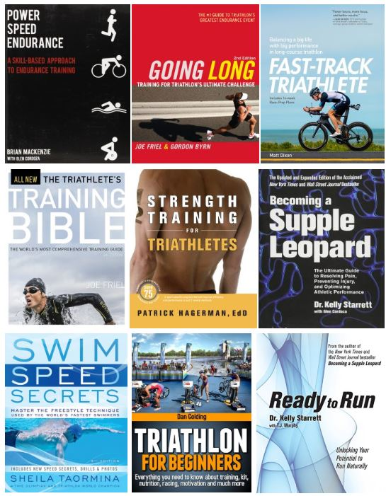 best triathlon books