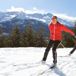 Skate skiing for better triathlete
