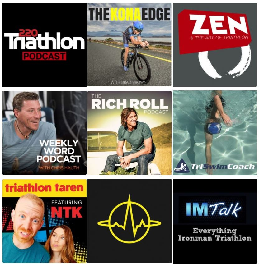 best triathlon podcasts