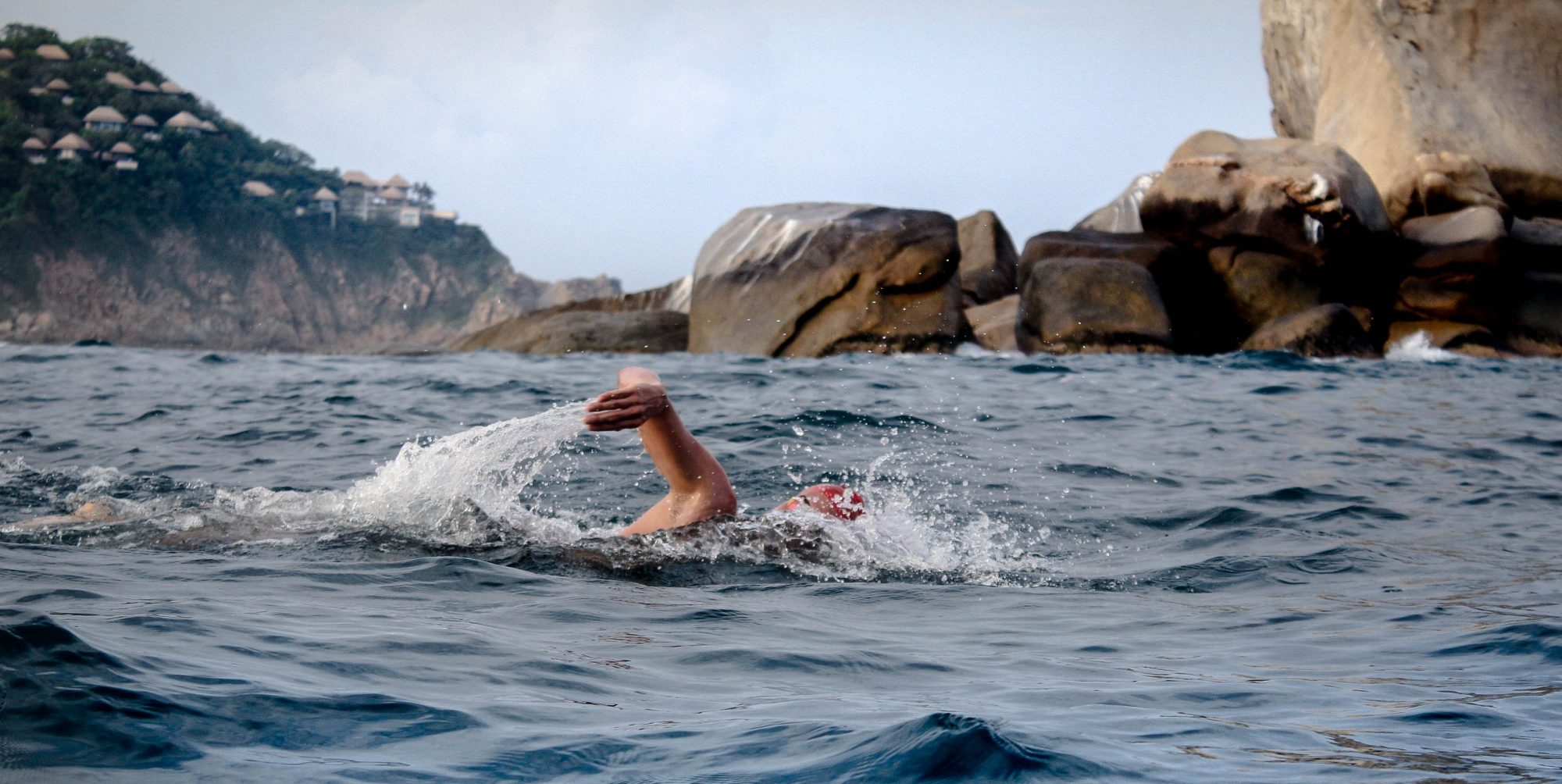 cold open water swimming