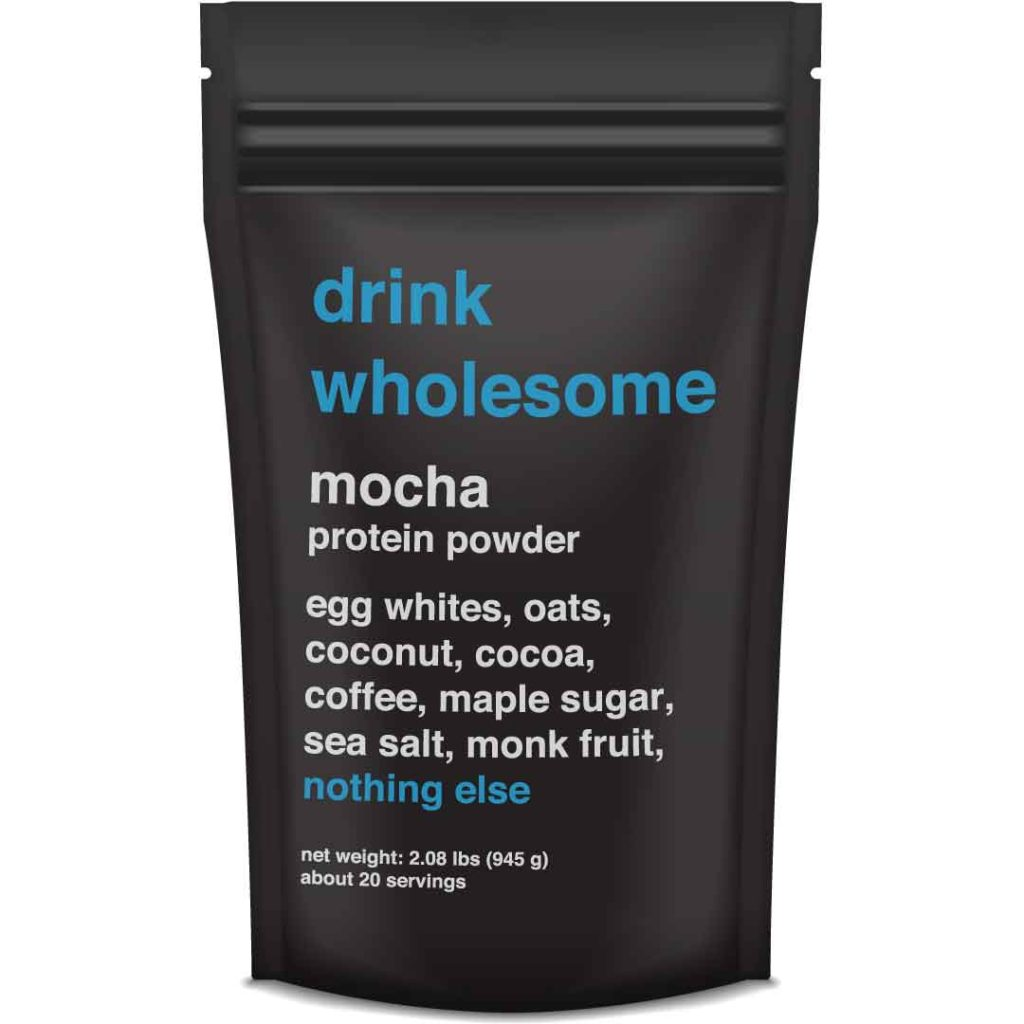 drink wholesome protein powder review