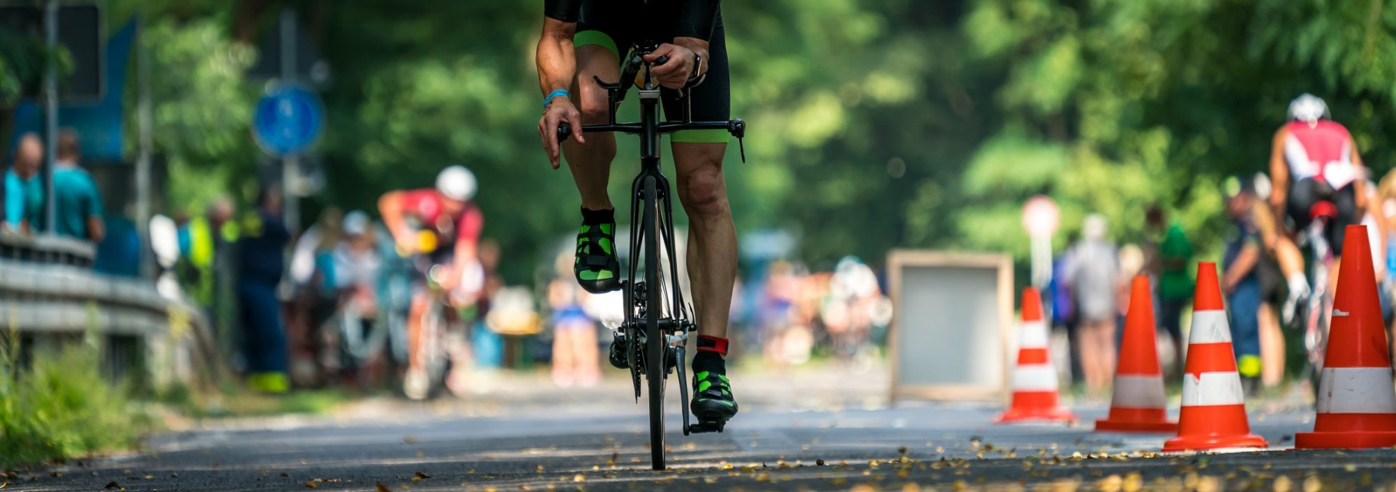Triathlon distances in miles and kilometers