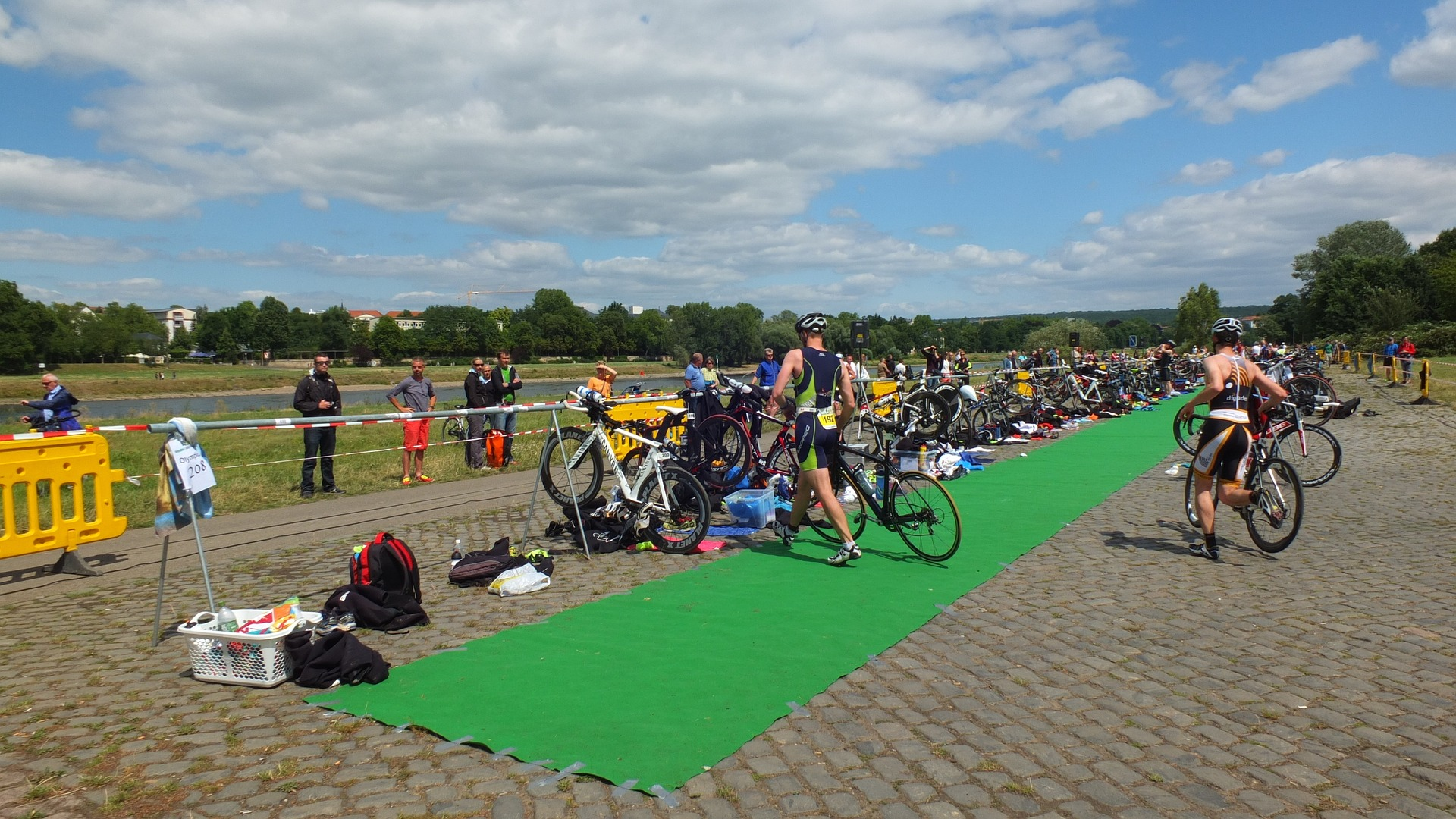 what is a triathlon transition