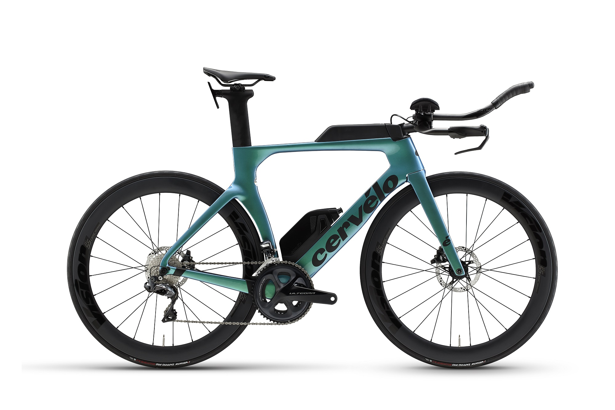 2021 Cervelo P-series TT Triathlon Bike Di2 Chameleon Blue