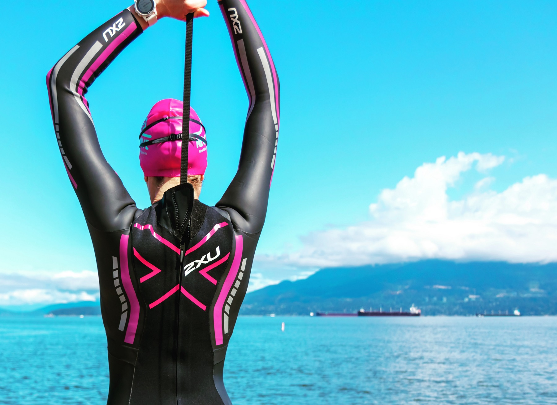 triathlon wetsuit swim training plan