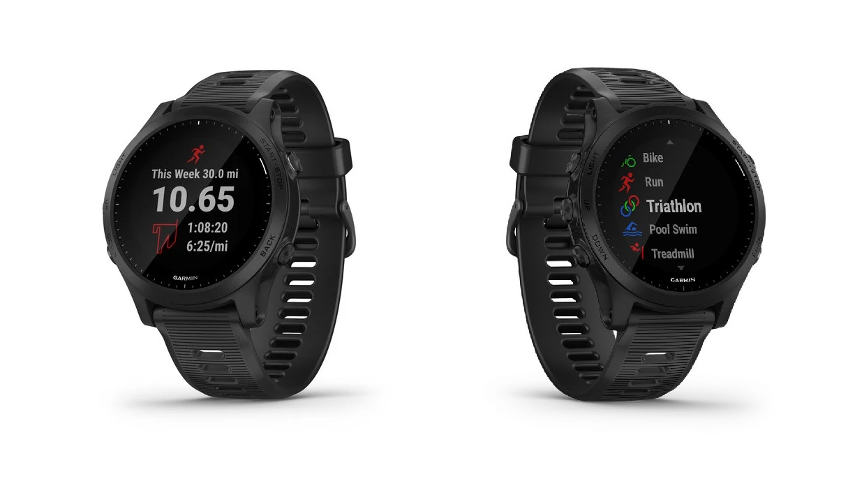 best garmin forerunner 945 triathlon watch multisport gps