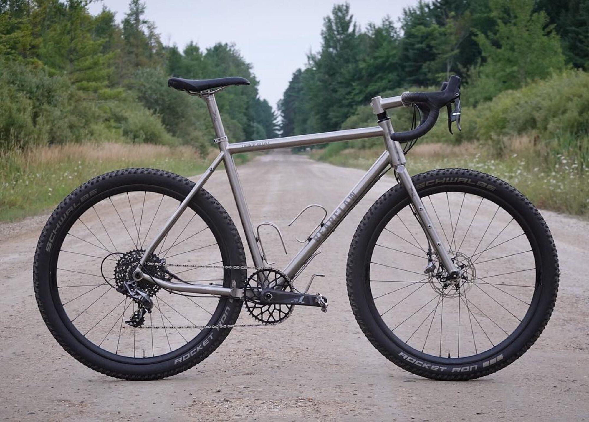 titanium gravel bikes